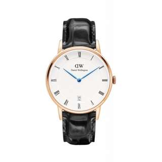 Authentic/Legit/Original Daniel Wellington Dapper Reading 34mm Rosegold Watch