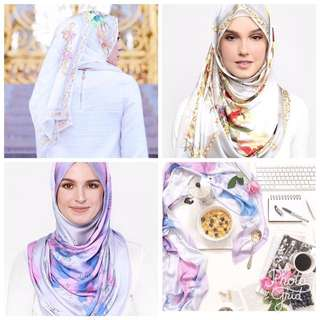 (REDUCED) Duckscarves the World Map Duck In Lilac & Duckxbowerhaus in Grey For Raya