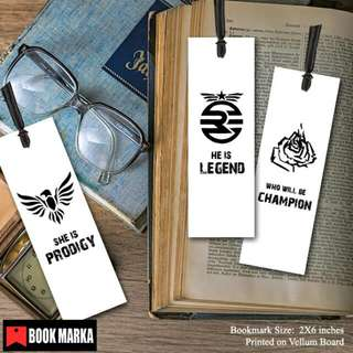 The Legend Trilogy Bookmarks