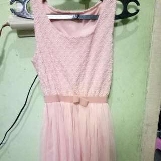 Dress Pict Pink
