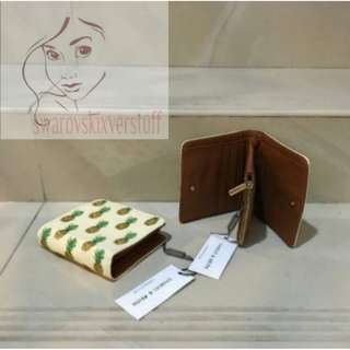 Charles and keith pineapple wallet