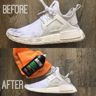 MINT instant shoe cleaner