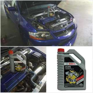 Bosch Engine Oil And Filter Change.