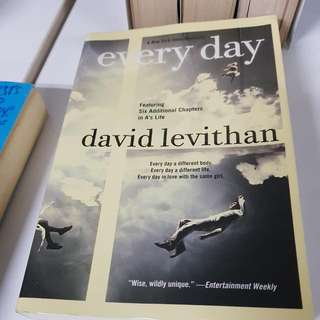 David Levithan Every Day