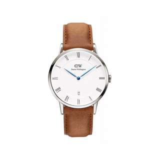 Authentic/Legit/Original Daniel Wellington Dapper Durham 38mm Silver Watch