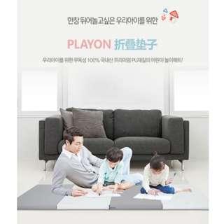 [Fashion Mama] 韓國直寄 Playon 兒童爬行墊 折疊遊戲地墊 160x120x4cm