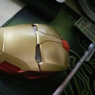 Iron Man 無線滑鼠mouse