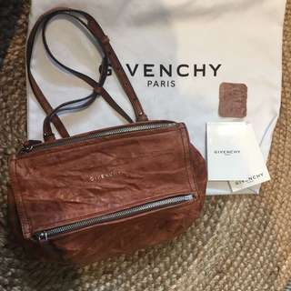 Authentic Givenchy Mini Pandora Crossbody Bag