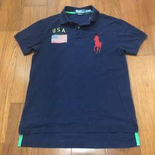 專櫃正品 Polo Ralph Lauren 上衣 Polo衫 尺碼M/M