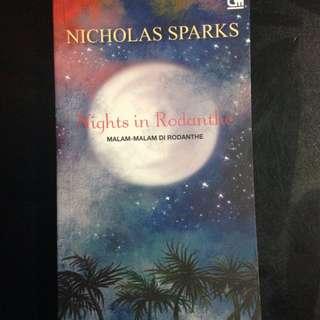 Novel Romance Nights In Rodanthe Nicholas Sparks