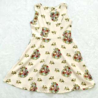 Nobby Flower Dress