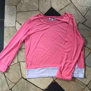 Gaudi Longsleeve Pink Top