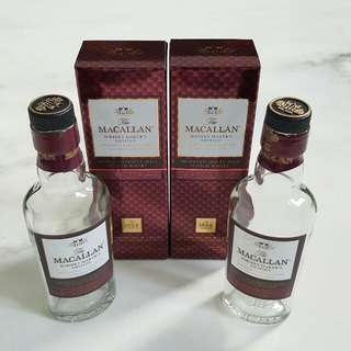 Empty Macallan Bottles