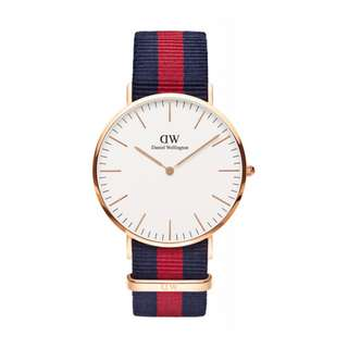 Authentic/Legit/Original Daniel Wellington Classic Oxford 40mm Rosegold Watch