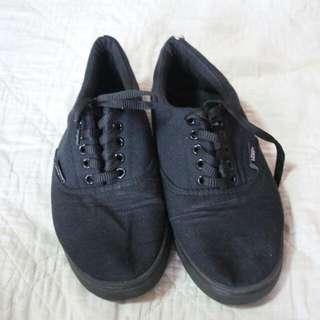 Repriced! Vans Black Sneakers