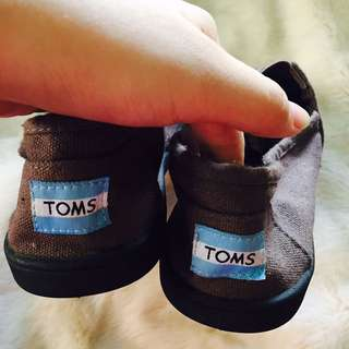 Size 9 Toms Chocolate Brown Shoes