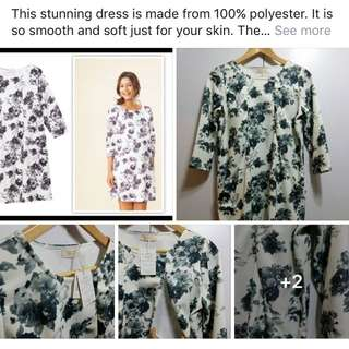 Breastfeeding Friendly Floral Maternity Dress