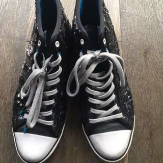 Adidas Sneakers With Sequins