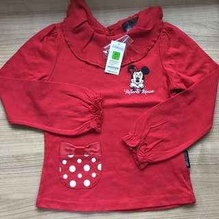 HK Disneyland Long-sleeved Shirt