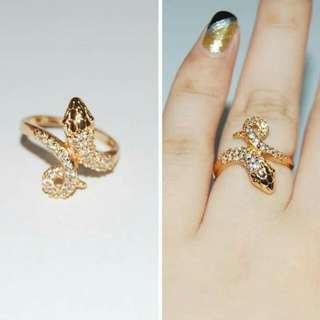14k bangkok gold plated ring