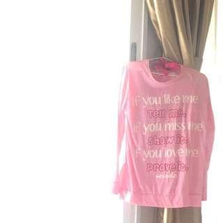 Kaos Pink Ribbon