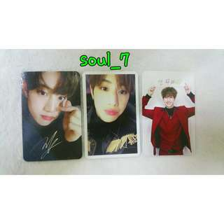 [ SELLING ] GOT7 Arrival Album : Mark Photocard ( 3 Version )