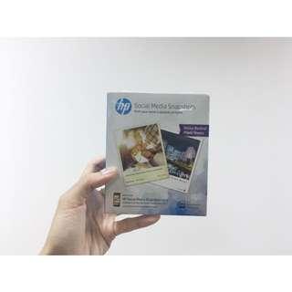 HP Social Media Snapshots Photo Sheets