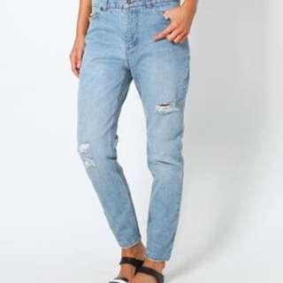 Insight Denim Slim Slouch Jeans Size 12