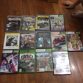 ps3 and xbox games