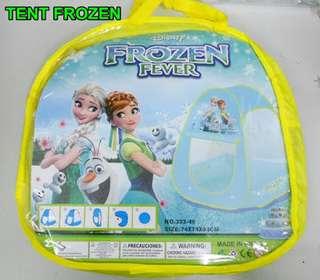 CHILDREN PLAY TENT - PYRAMID STYLE - FROZEN