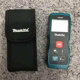 Makita 日本牧田 LD050P 雷射測距儀 坪數/台尺模式