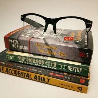 Nerdy Eye Glasses