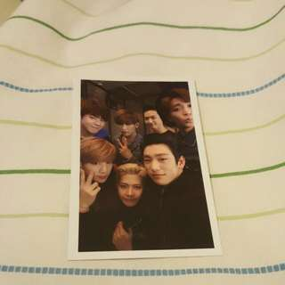 [WTT] GOT7 Departure Group Photocard