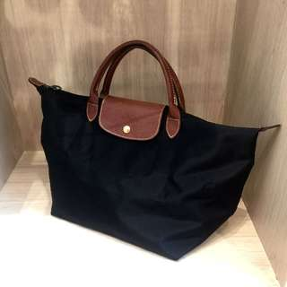 Longchamp Authentic Bag Medium Black