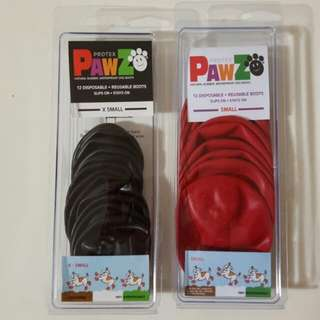 Pawz Disposable & Reusable Boots for puppies!