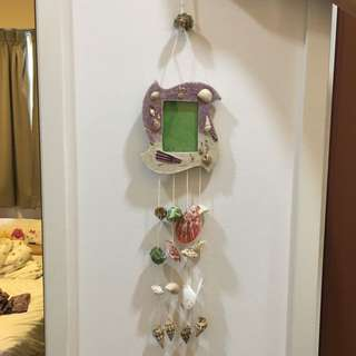 Seashells Wind Chime With Photo Frame