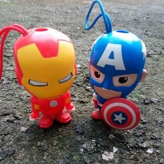 Iron Man & Captain America Mini Action Figure