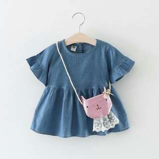 Dolly Dress With Sling Bag