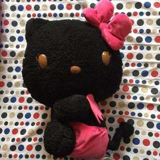 Black Hello Kitty Soft Toy