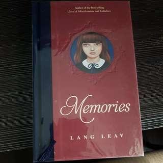 Lang Leav Memories book