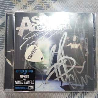 Asking Alexandria | From Death To Destiny Signed with Free Bullet For My Valentine Pick