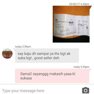 Testi Customer Tq Ya Sayyy🙏