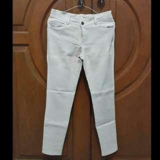 cream Long pants / ceLana panjang