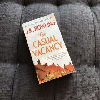 Casual Vacancy - JK Rowling (eng edition)