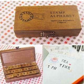 Alphabet Stamp (Upper Case)
