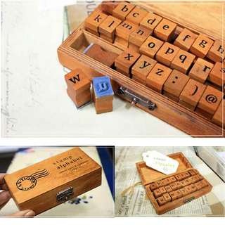 Alphabet Stamp (Lower Case)