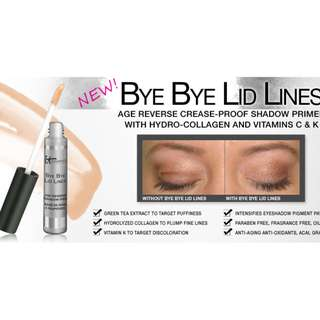 I.T. IT COSMETICS BYE BYE LID LINES Brand New + Auth