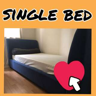 single bed with latex mattress
