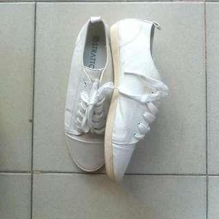 Fallon Sneakers White (Stratto) Sepatu Putih