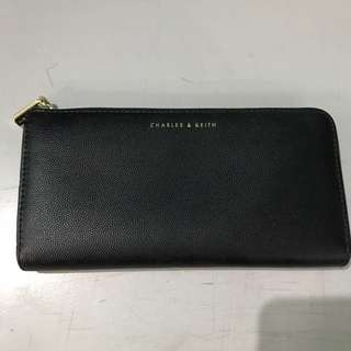 Charles And Keith Wallet Black